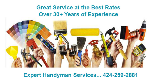 Handyman West Los Angeles - Handyman for TV Mounting, TV